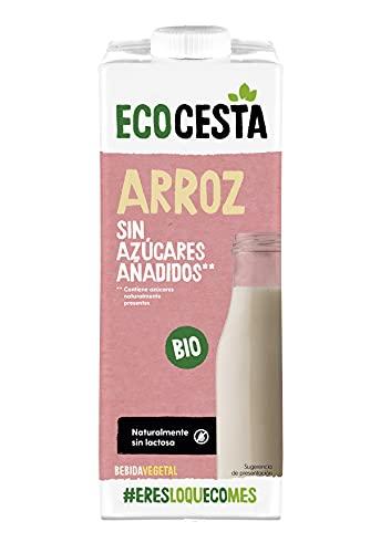 Ecocesta mejor cada día Bebida Vegetal De Arroz Con Calcio Bio, Caja De 6 X 1 L