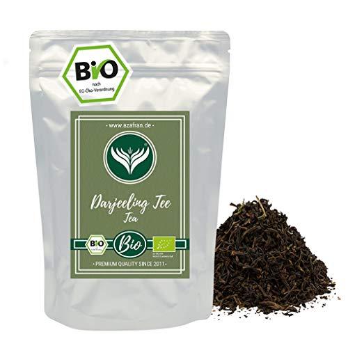 Azafran Schwarzer Tee - Indischer BIO Darjeeling Schwarztee 500g