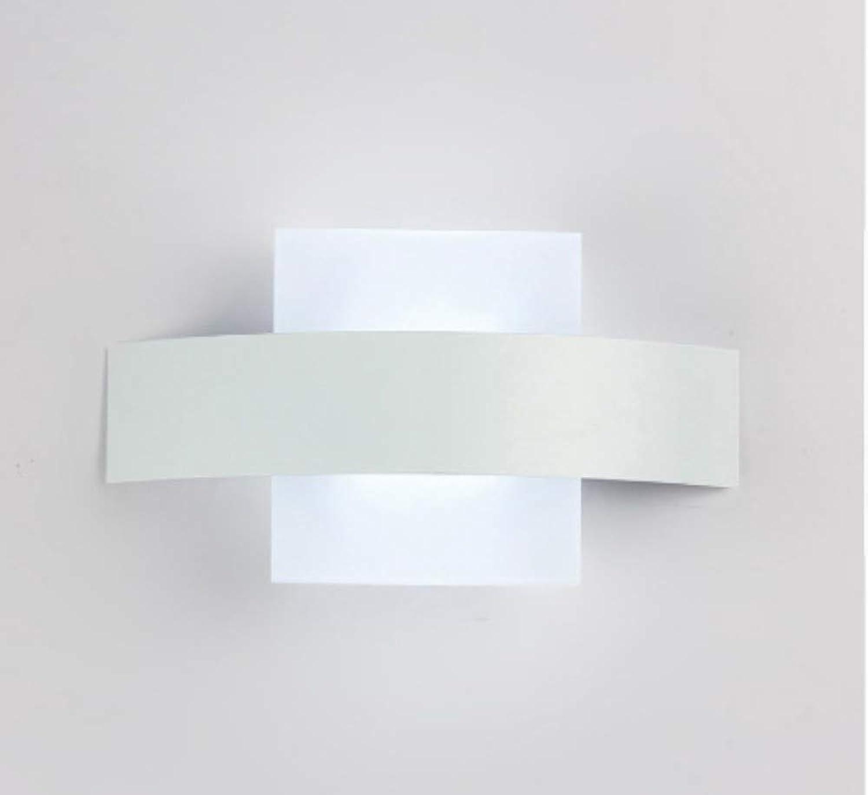 LIUJINHAI Wandleuchte quadratisch acryl Material für Wohnzimmer Badezimmer Dekoration Wandleuchte 90-260 V lamparas de parot