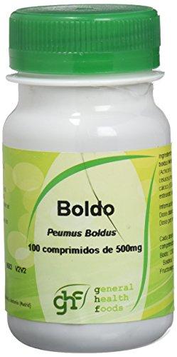 GHF, Boldo 100 comprimidos 500mg