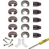 Kenlin Rite-Trak II Drawer Guides - Kenlin Rite-Trak II Replacement Drawer Parts (5 Sets)