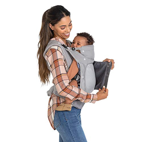 Infantino in Season - Ergonomic, 5 Layer Carrier with face-in and face-Out, Front and Back Carry for Newborns and Toddlers 8-40 lbs, Unisex