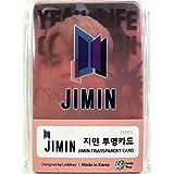 JIMIN ジミン - BTS 防弾少年団 グッズ / 透明 フォトカード 25枚セット - TRANSPARENT CARD 25pcs [TradePlace K-POP 韓国製]