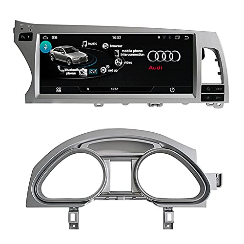 LIBINA Adecuado para Audi Q7 2012 2013 2014 2015 Reproductor Multimedia, Interfaz de automóvil Android con función Mirror Link AirPlay CarPlay, 8.8/10.25 Pulgadas / 1+ 16G / FM/WiFi/ADAS/IDRIVE
