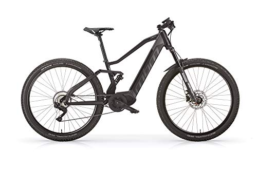 MBM E Hyperion MTB 29 Full S 14AH, Bici Unisex Adulto, Nero A01, 50