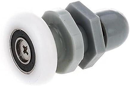 Roulements Box douche roulettes /à bille de rechange en acier pour portes de douche /à chantourner Kit 2/pi/èces ec-3303