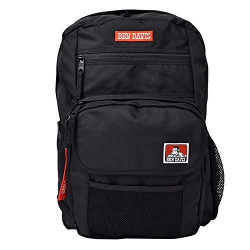 [ベンデイビス] BEN DAVIS リュック 大容量 リュックサック レディース 通学 メンズ 29L 大きめ バックパック 黒 スクエアリュック ポケット多い