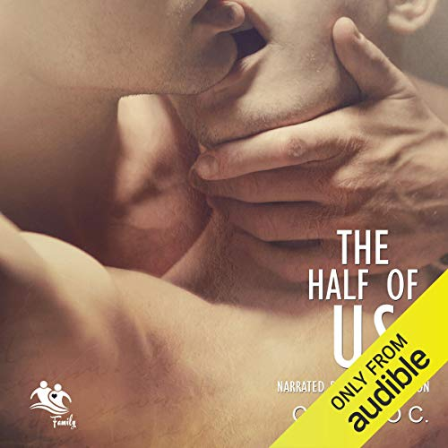The Half of Us audiobook cover art