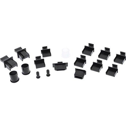 InLine 59941K Staubschutz-Set, für PC-Schnittstellen, 17-teilig