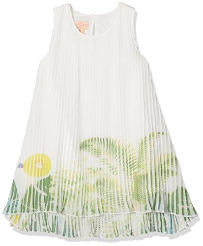 Pezzo D'oro Plissekleid, Mädchen Festtagskleid, Flatterkleid, Mädchenkleid (140)