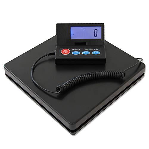 WEIMALL デジタルはかり 50kg スケール はかり 秤 計量器 オートパワーオフ 風袋引き 電子天秤