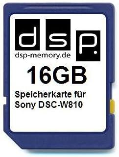 DSP Memory 16GB Speicherkarte für Sony DSC W810