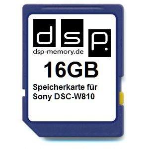 DSP Memory 16GB Speicherkarte für Sony DSC-W810