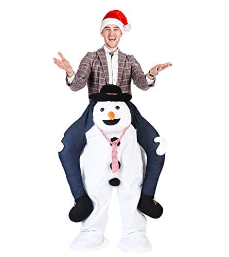 Divertido Disfraz de Novedad – Traje para Navidad, Muñeco de Nieve ...