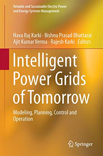 Intelligent Power Grids of Tomorrow: Modeling, Planning, Control and Operation (Reliable and Sustain
