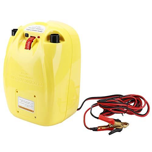 T-Day Bomba de Canoa, Bomba de Kayaks, Bomba de Aire eléctrica portátil de Alta presión de 12 V para canoas inflables, Balsas, Kayaks.