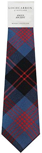 I Luv Ltd Gents Neck Tie Angus Ancient Tartan Lightweight Scottish Clan Tie