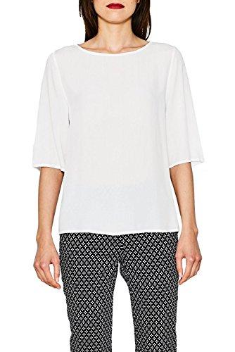 ESPRIT Damen 077EE1F022 Bluse, Weiß (Off White 110), 38