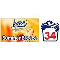 Lenor Summer Breeze Tumble Dryer Sheets, Paquete de 34
