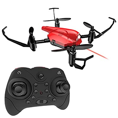 Mini Drone Holy Stone HS177 RC Quadcopter Battle Drone for Kids and Beginners RTF 4 Channel 2.4GHz 6-Axis Gyro with Altitude Hold, Headless Mode, 3D Flip