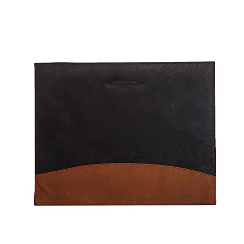 Pad folio/ Resume Portfolio Folder Men Women| Interview Legal Document Organizer & Business Card Holder| A4 Sized pockets inside|Handmade in cow Leather Tan by The Leather Warehouse