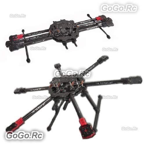 GoGoRc Tarot FY690S Foldable 6 axis Hexa-Copter 3K Carbon Fiber Frame - RH68C01