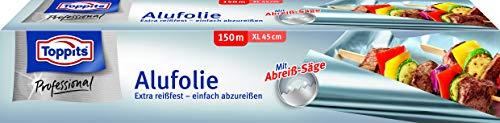 Toppits Alufolie 150 m extrabreit, 1er Pack (1 x 1 Stück)