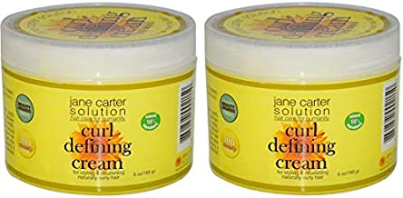 (Pack of 2) Jane Carter Solution Curl Defining Cream, 6 oz