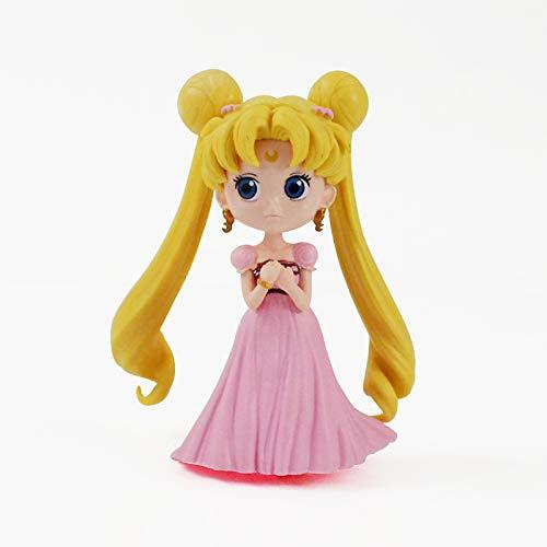 Meijin Figura de acción coleccionable, 13 cm, 4 estilos, anime de anime, marinero, luna, tsukino, princesa, modelo de juguetes de muñeca (color: D)