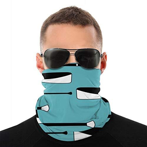 Remo Remo Remos Blauw Wit en Zwart 1 Verano zonnescherm Transparant Pañuelo en la Cabeza Máscara de montar Multifunctionele Sombreros Máscara UV-bescherming