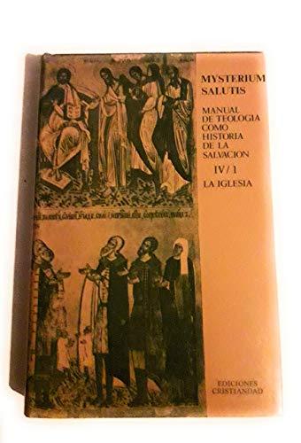 Mysterium Salutis (Tomo IV)