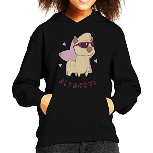 Cloud City 7 Alpacool Alpaca Kid's Hooded Sweatshirt