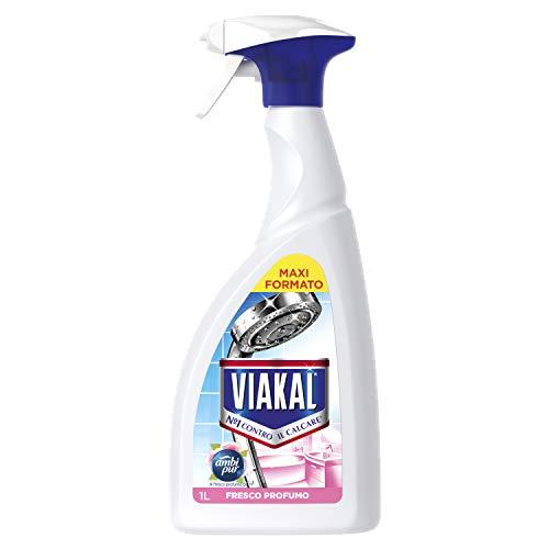 Viakal Fresco Profumo Anticalcare Spray, 1l