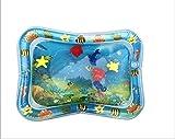 HMG 3 PCS Bebé Inflable del Agua del Acuario Jugar Cojín Postrado Juguete del cojín de la Alfombra Azul de luz 66 * 50cm