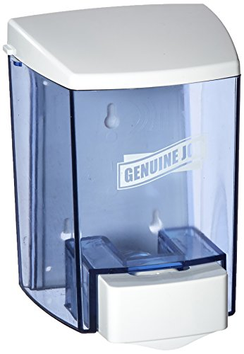 Genuine Joe Joe 30 oz Soap Dispenser, 30 fl oz (887 mL), Clear