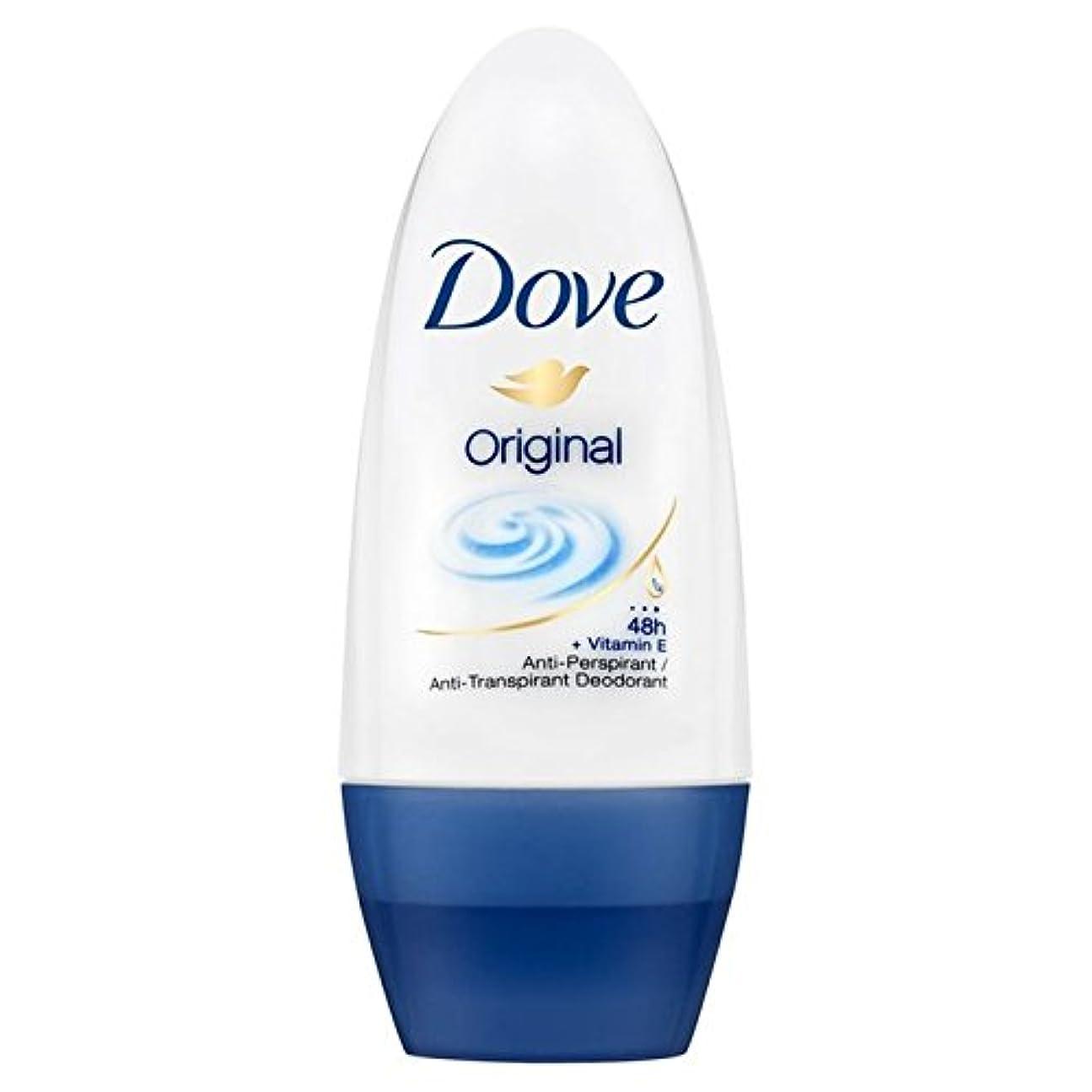 構成やろう圧倒的Dove Original Roll-On Anti-Perspirant Deodorant 50ml - 鳩のオリジナルロールオン制汗デオドラント50ミリリットル [並行輸入品]