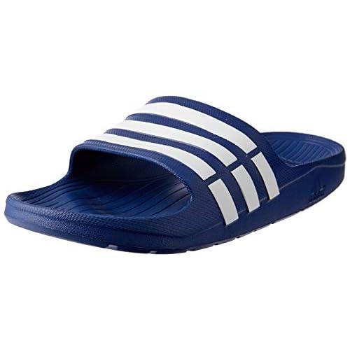 adidas Duramo Slide, Ciabatte Uomo, Blu (True Blue/White/True Blue), 38 EU