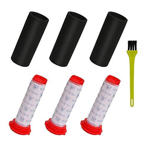 Runtodo Kit de filtro de repuesto para Athlet, 3 filtros principales + 3 filtros de espuma para aspiradora inalámbrica