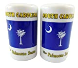 South Carolina Gift Palmetto Tree State Flag Salt and Pepper Shakers