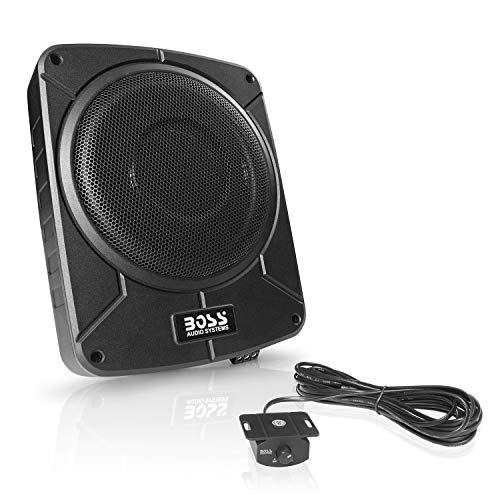 BOSS Audio Systems BAB10 Amplified Car Subwoofer - 1200 Watts Max Power, Low Profile, 10 Inch Subwoofer, Remote Subwoofer Control, Great for...