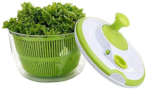 Best Bargain Aich Salad Spinners Household Multifunctional Vegetable Dryer Dehydrator Household Sala...