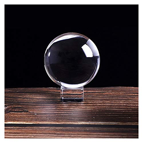 Moonlight Star Klare Kristall Ball Magie Weibliche Globus Stütze Objektiv Ball Fotografie Feng Shui Ball Mini Glas Ball Home Decoration Zubehör (Farbe : Royal Blue, Größe : 8cm)