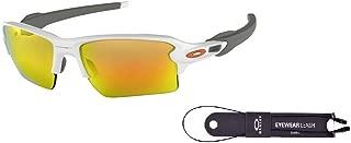 Flak 2.0 XL OO9188 Sunglasses For Men+BUNDLE with Oakley Accessory Leash Kit