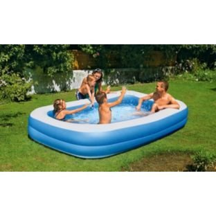 OnlineDiscountStore Chad Valley Family Swim Centre Rectangular 950 Litre Pool Summer Fun. by
