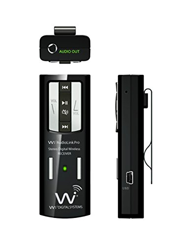 Wi Digital Wi-ALP55 AudioLink Pro Smart Pocket Portable Stereo Digital Wireless Instruments and Audio Monitoring System with USB Audio Interface