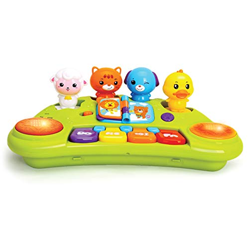 Best Price JOYIN Baby Piano Keyboard Music Cute Animal Activity Center Infant Activity Education Toy...