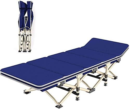 Tumbonas, silla de cama individual Siesta Silla de gravedad plegable Silla de...