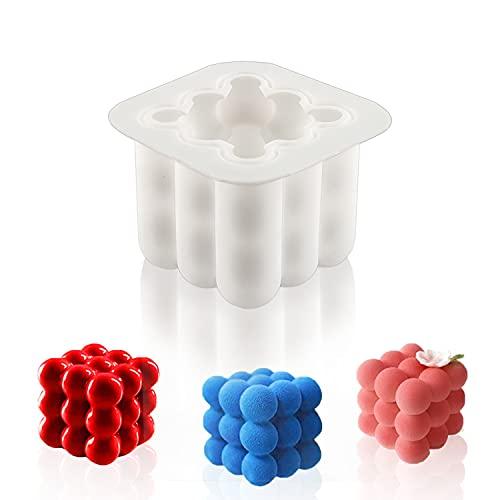 Molde de Vela Silicona de Cubo Magico 3D