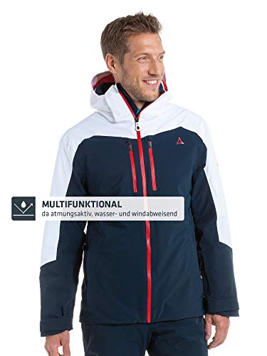 Schöffel Herren Lenzerhorn M Ski Jacke, Blau (navy blazer), 52