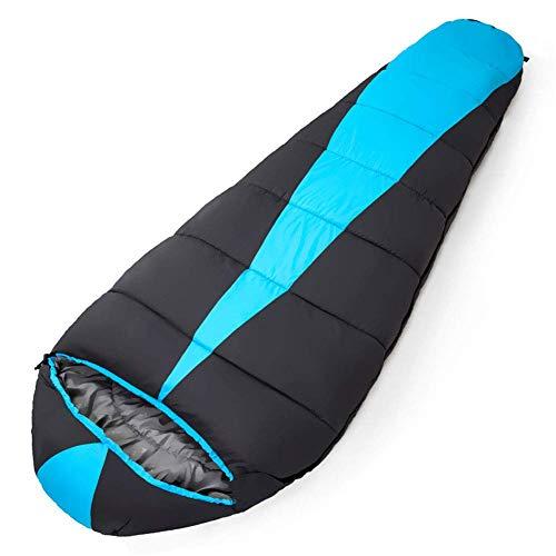 CATRP Nylon Sac de Couchage imperméable Enveloppe légère Adultes Dormir Sac Chaud Respirant Activités de Plein air Sleeping Pad